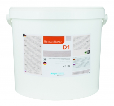 BergerBond D1 - Dispersionskleber - 22 kg